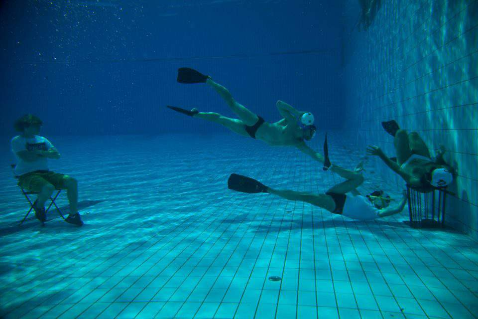 Underwater rugby? Hungarians rock at it!
