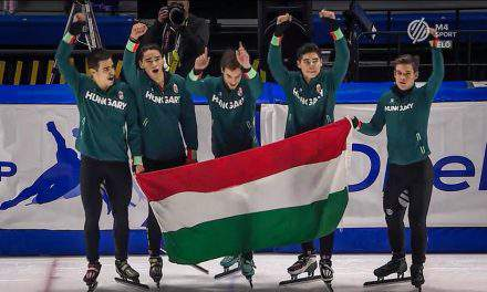 Hungarian world record at the Short Track World Cup