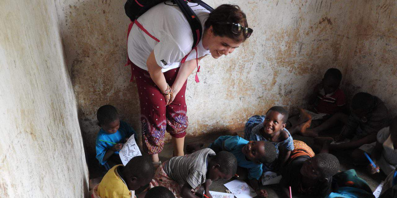 Two Hungarian girls helping generations in Africa