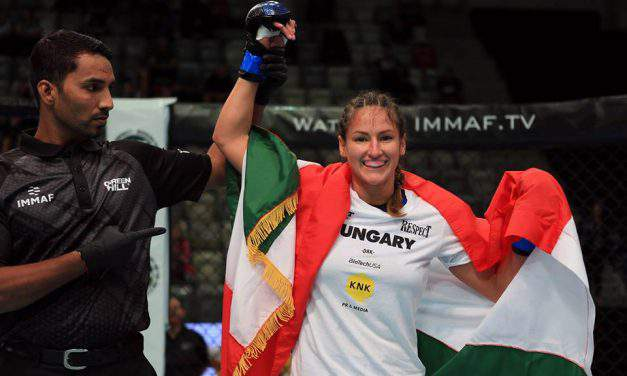 Finally! Hungarian WMMA fighter crowned world champion in Bahrain
