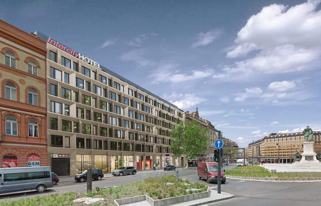 BL Budapest Intercity Hotel Building Plan Budapest