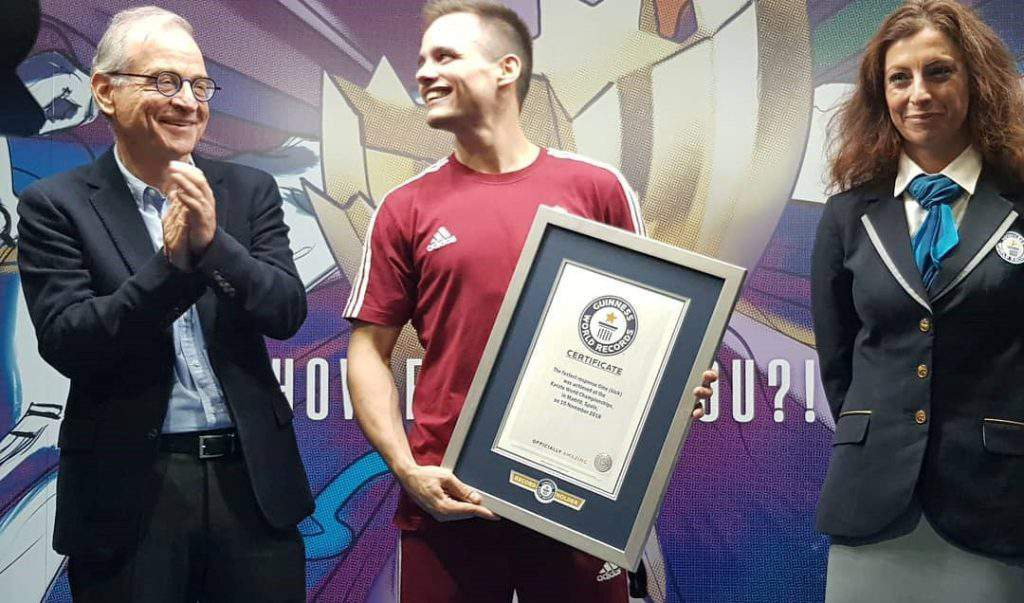 sport, karate, Guinness World Record