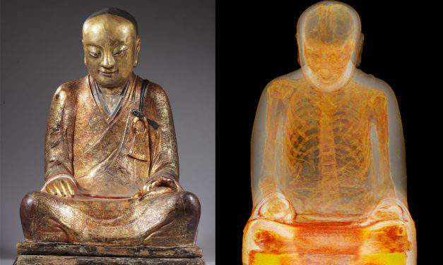 The story of the sacred Chinese statue found in Budapest