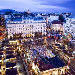 The history of Christmas fairs and Vörösmarty Square – Photos