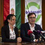 Opposition Párbeszéd re-elects Szabó, Karácsony as co-leaders