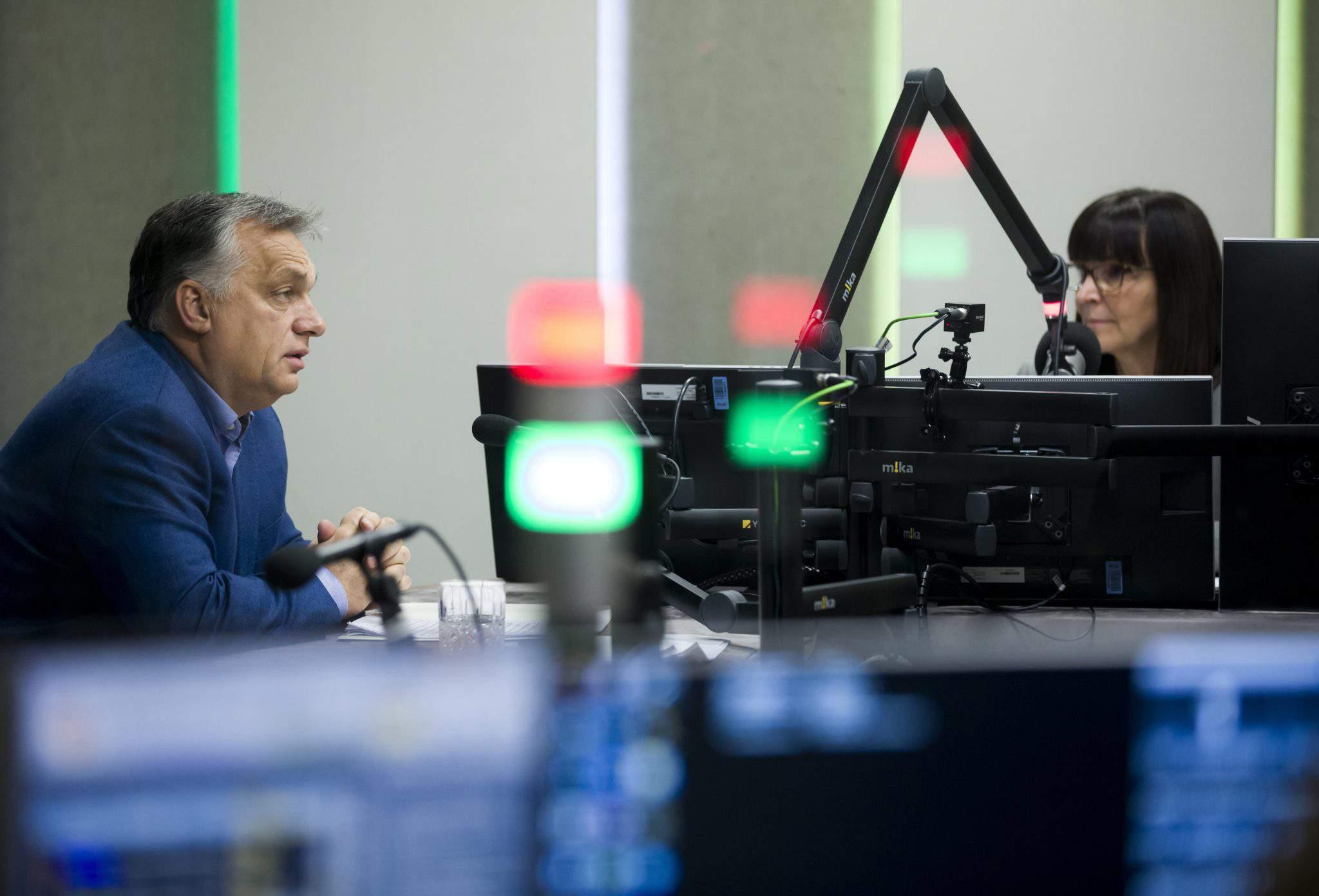 orbán radio interview