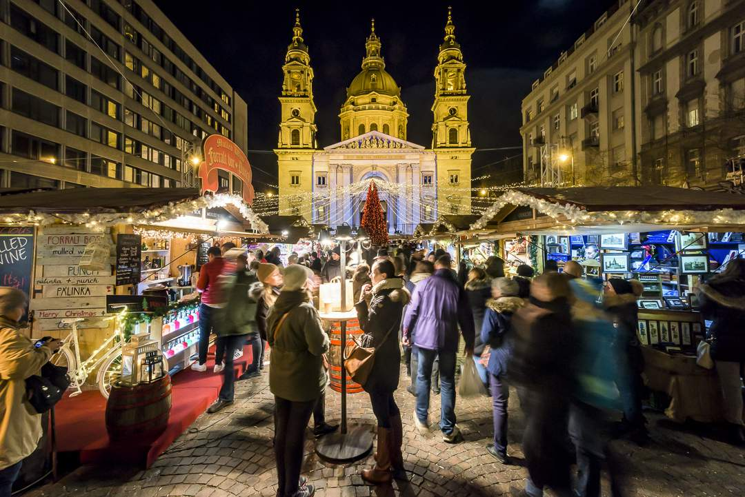 Photo: Budapest Basilica Christmas Market