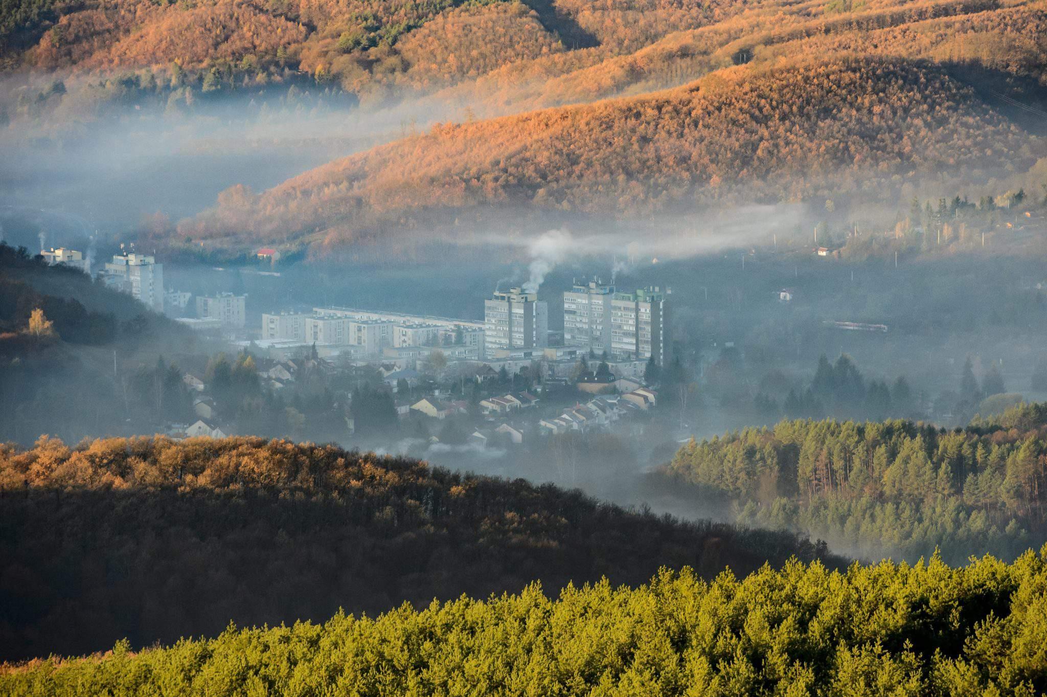 smog Hungary Salgótarján