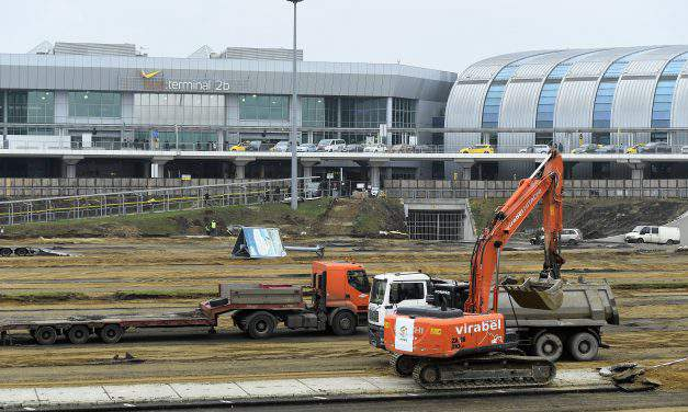 Six-level multi-storey car park construction commenced at Budapest Airport