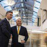 Hungary, Croatia PMs discuss ties, EPP cooperation