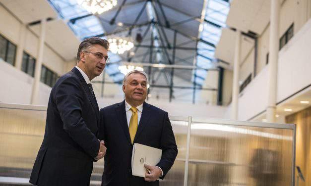 Hungary, Croatia PMs discuss ties, EPP cooperation