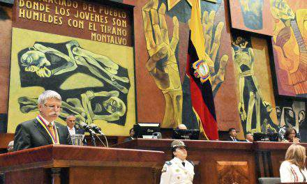 Ecuador stable regional partner, says Hungarian house speaker in Quito