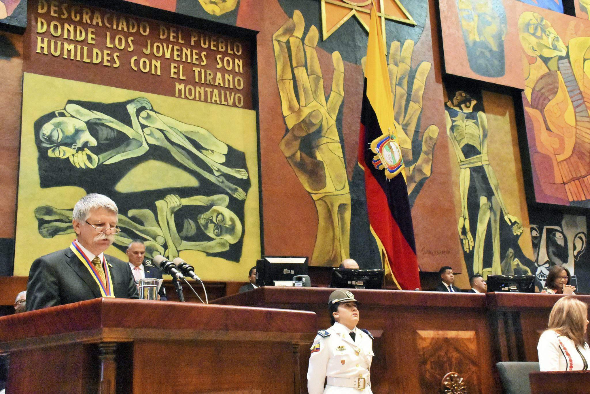 Hungarian House Speaker Ecuador