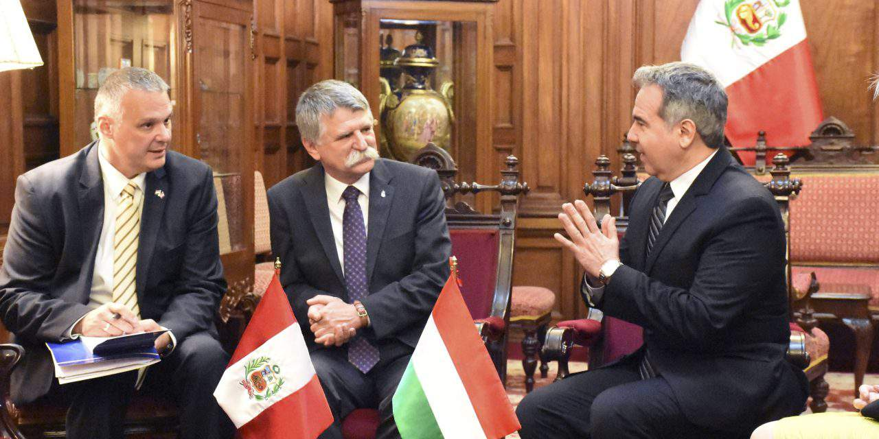Hungarian House Speaker on official visit to Peru