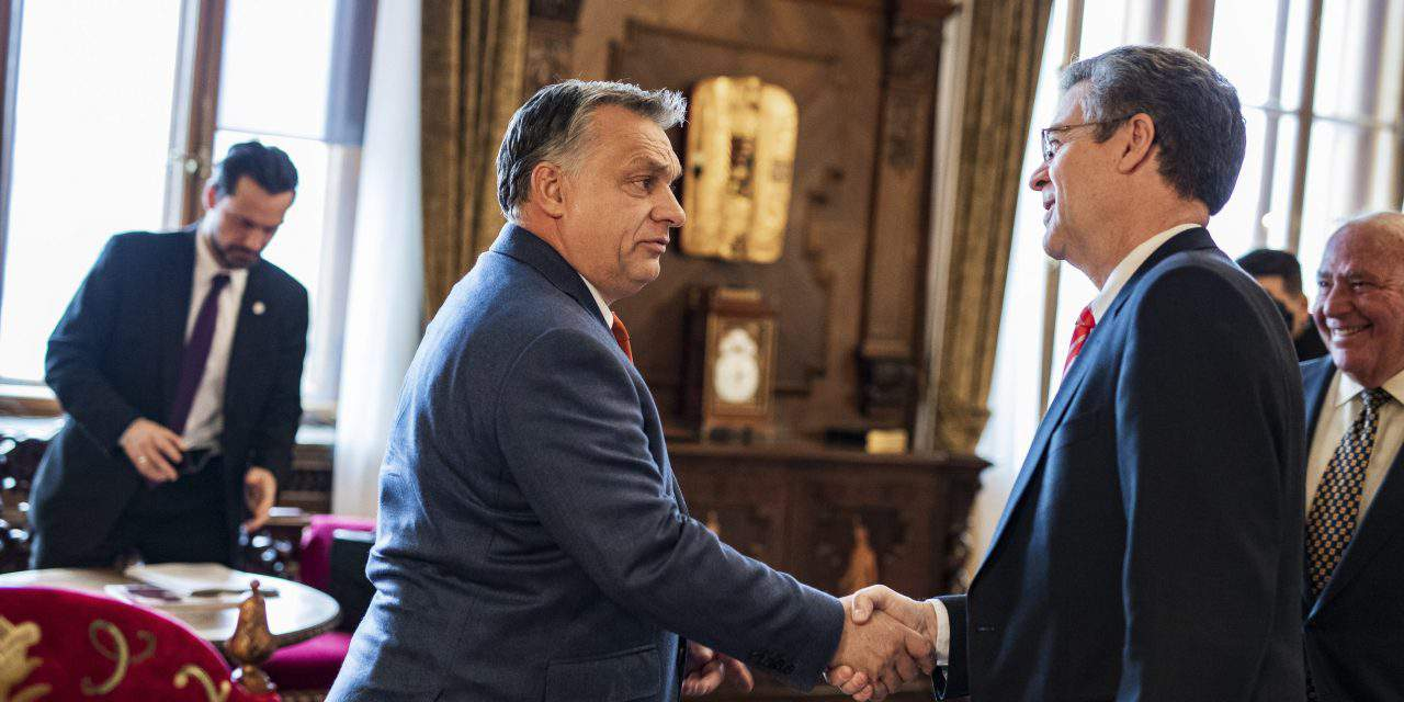 PM Orbán meets US ambassador for religious freedom
