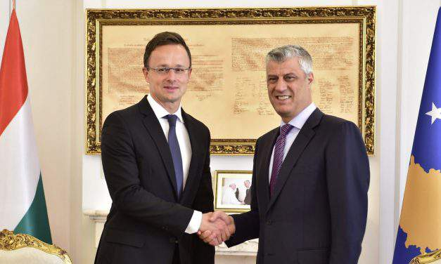 Western Balkan countries need support in stopping migration, says Hungarian FM in Kosovo