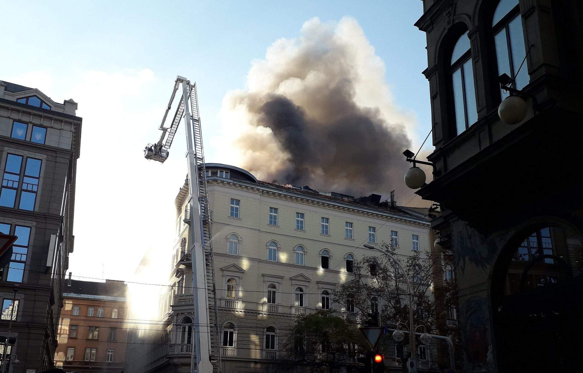 budapest fire