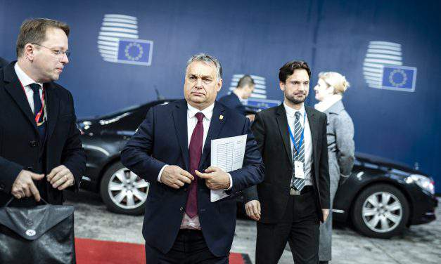 Brexit agreement endorsement sad day for EU, says Orbán in Brussels