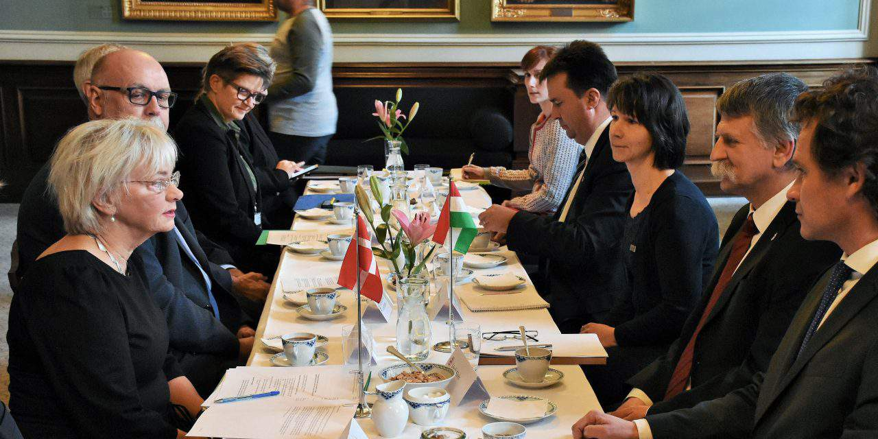 Hungarian house speaker presses for stronger Hungary-Danish parliamentary cooperation