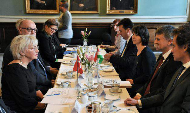 Hungarian house speaker presses for stronger Hungary-Danish parliamentary cooperation
