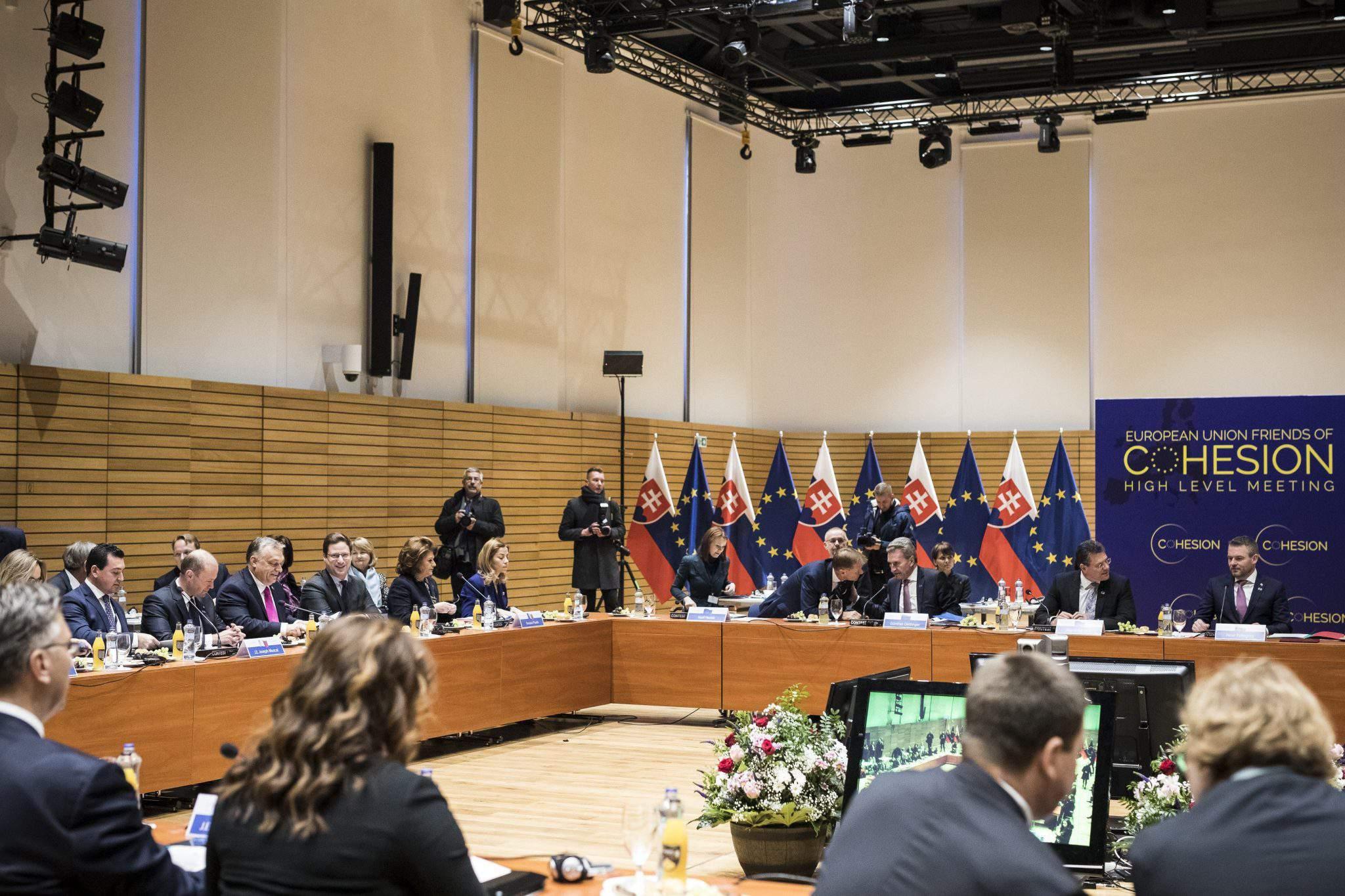 Cohesion summit Bratislava