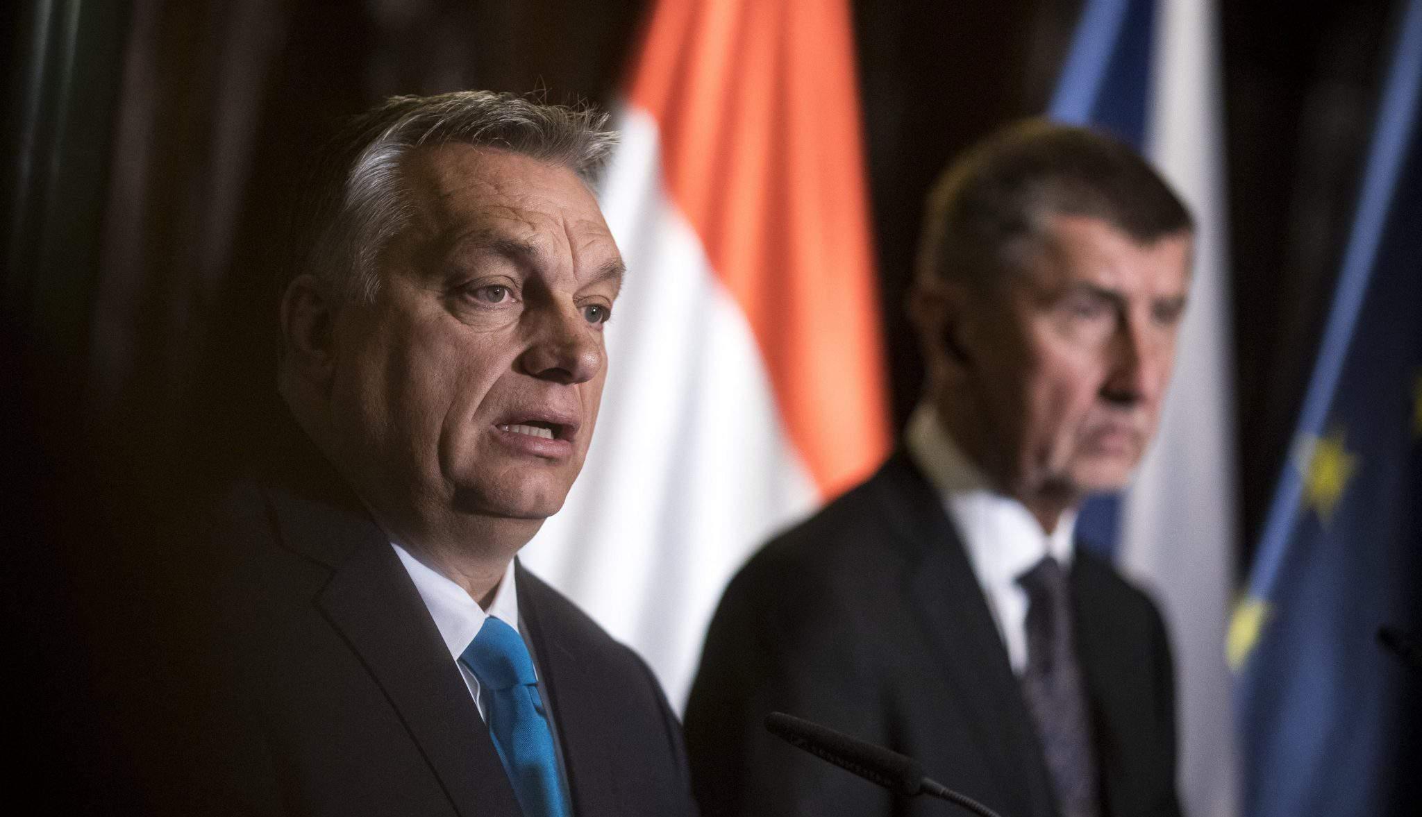 orbán Prague