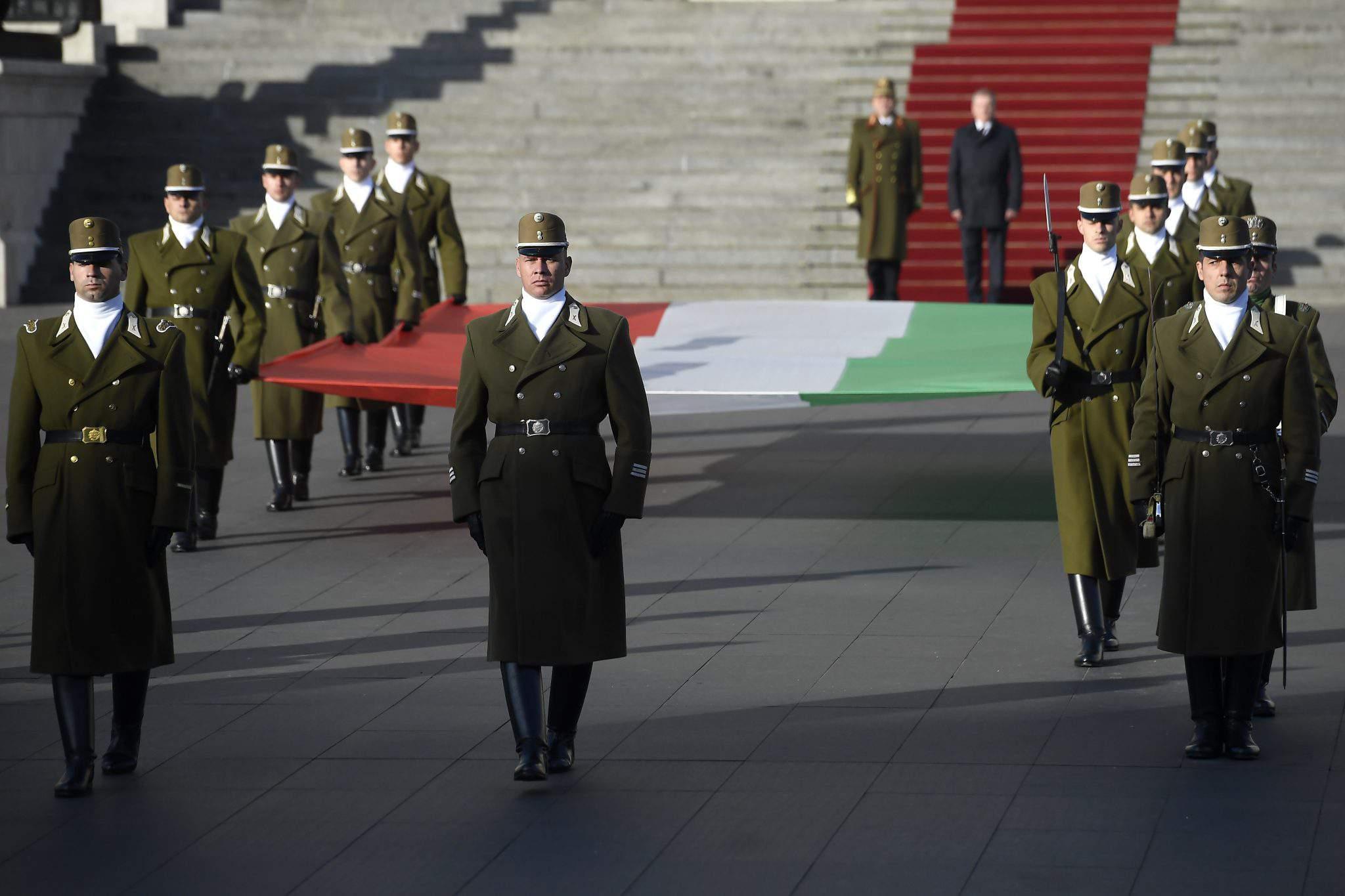 Kossuth Square, Budapest - Hungary marks anniversary of 1956 Soviet reprisal