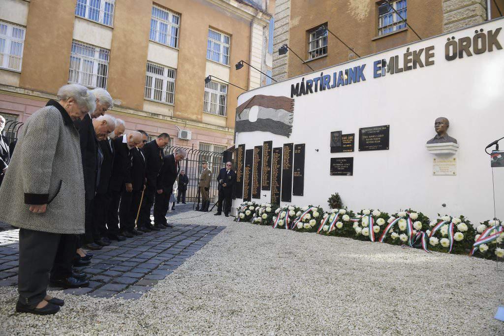 Budapest, Hungary - marks anniversary of 1956 Soviet reprisal