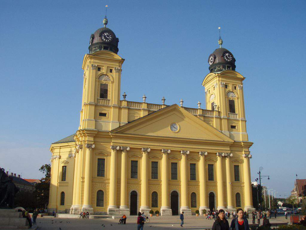 Protestand Great Church of Debrecen Debreceni Református Nagytemplom