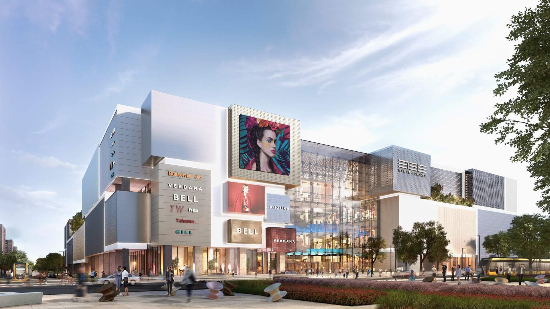 mall, architecture, new, future