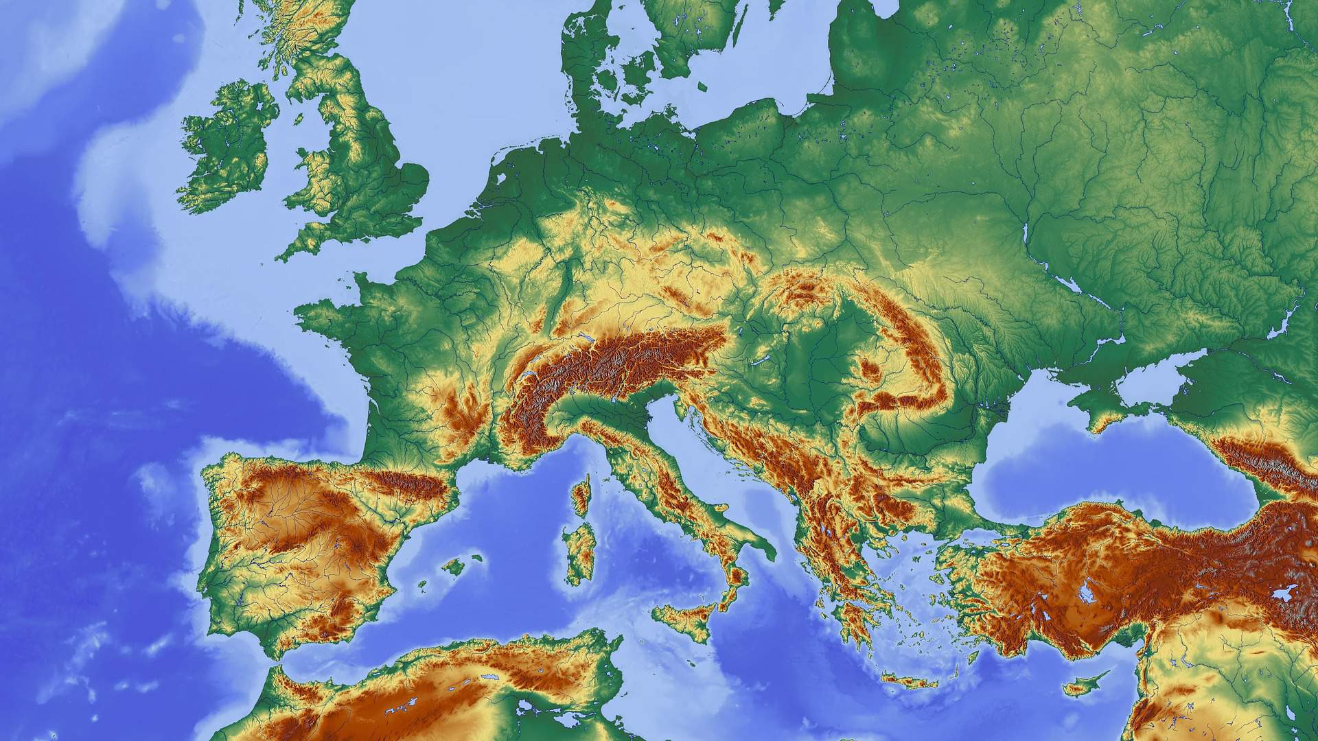 Europe, Earth, geography
