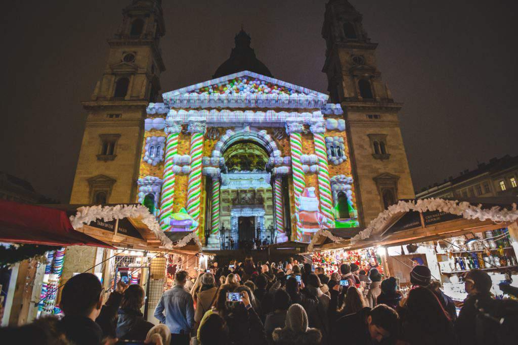 Budapest Basilica Christmas Market