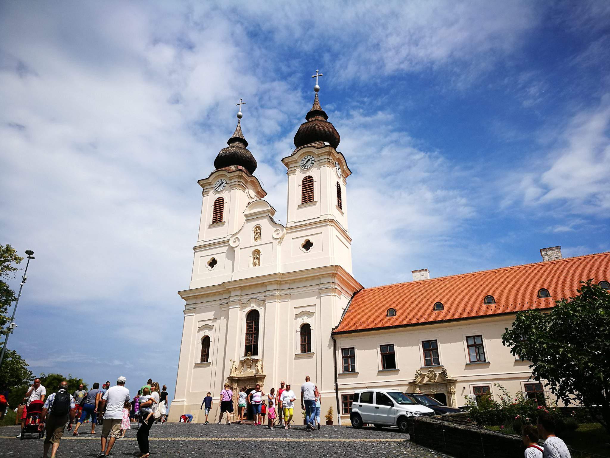 abbey, building, tihany