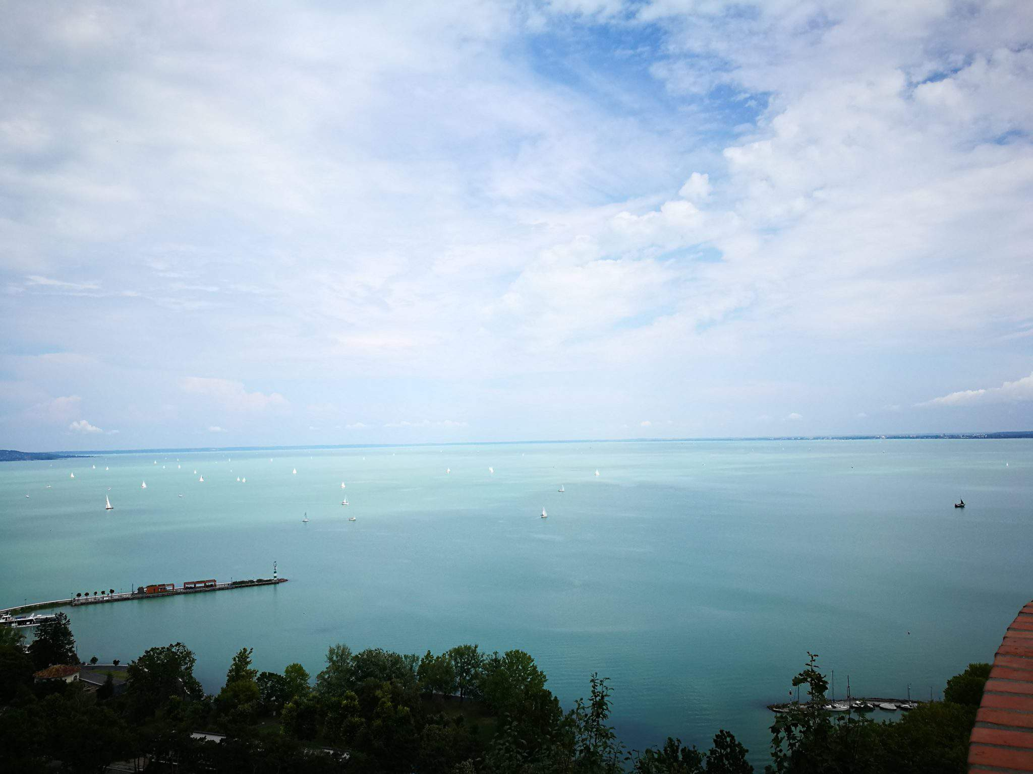 lake, balaton, hungary