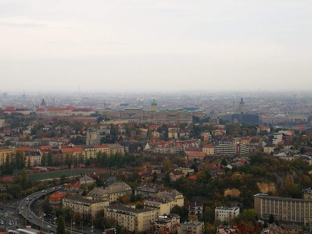 city, Budapest, view