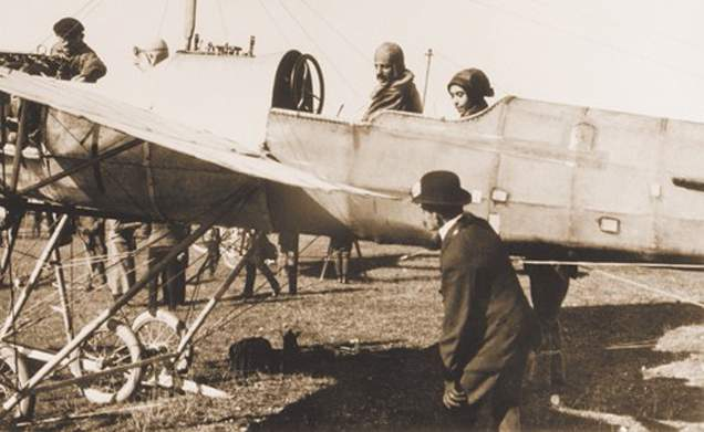 Steinschneider Lilly, airwoman, pilot
