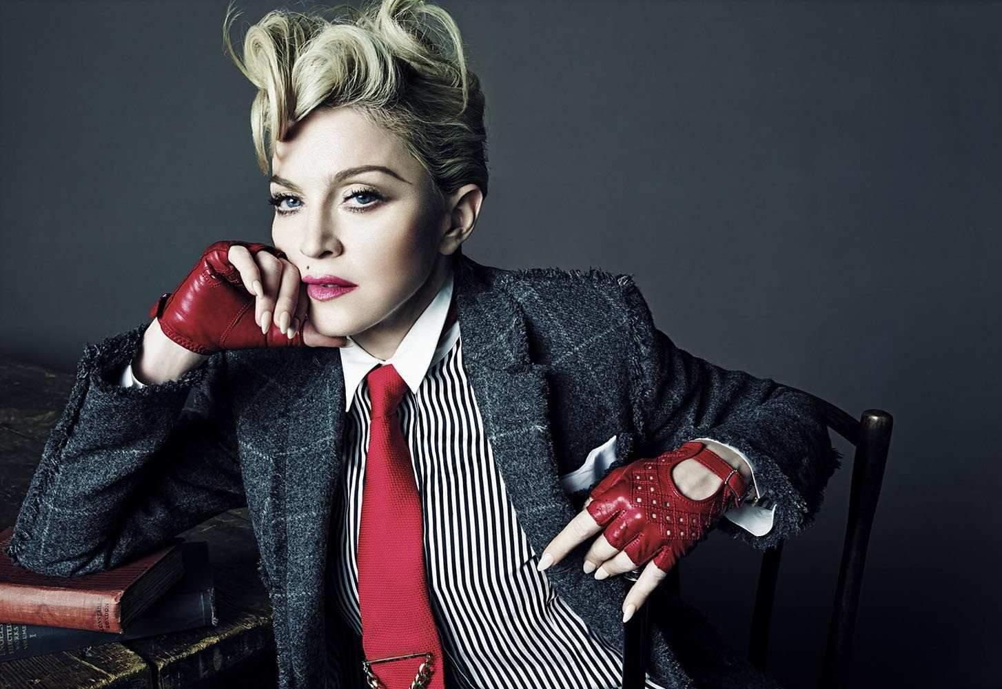Madonna, fashion, photoshoot