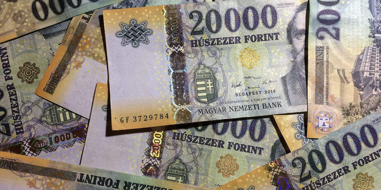 Currency Exchange Hungarian Forint 20 February 2019