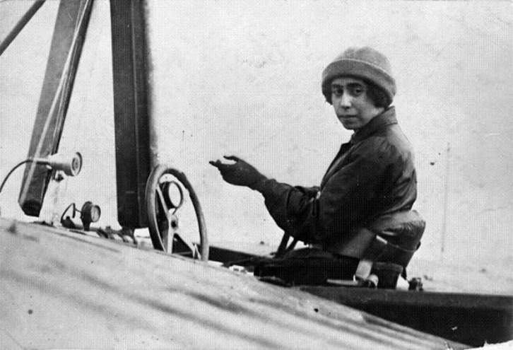 The story of the first Hungarian airwoman