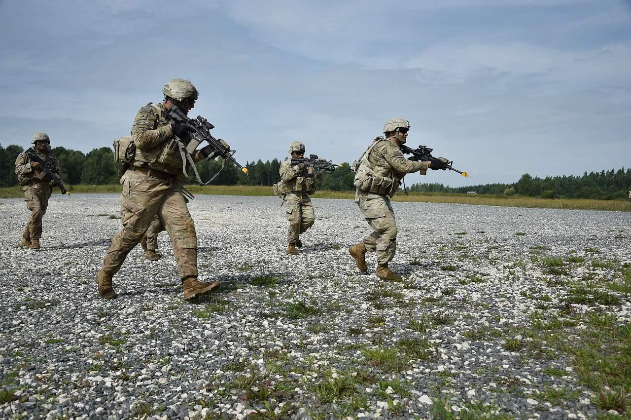 military, exerise, soldiers, katona