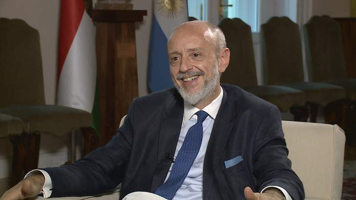 Maximiliano Gabriel GREGORIO CERNADAS, Ambassador of Argentina