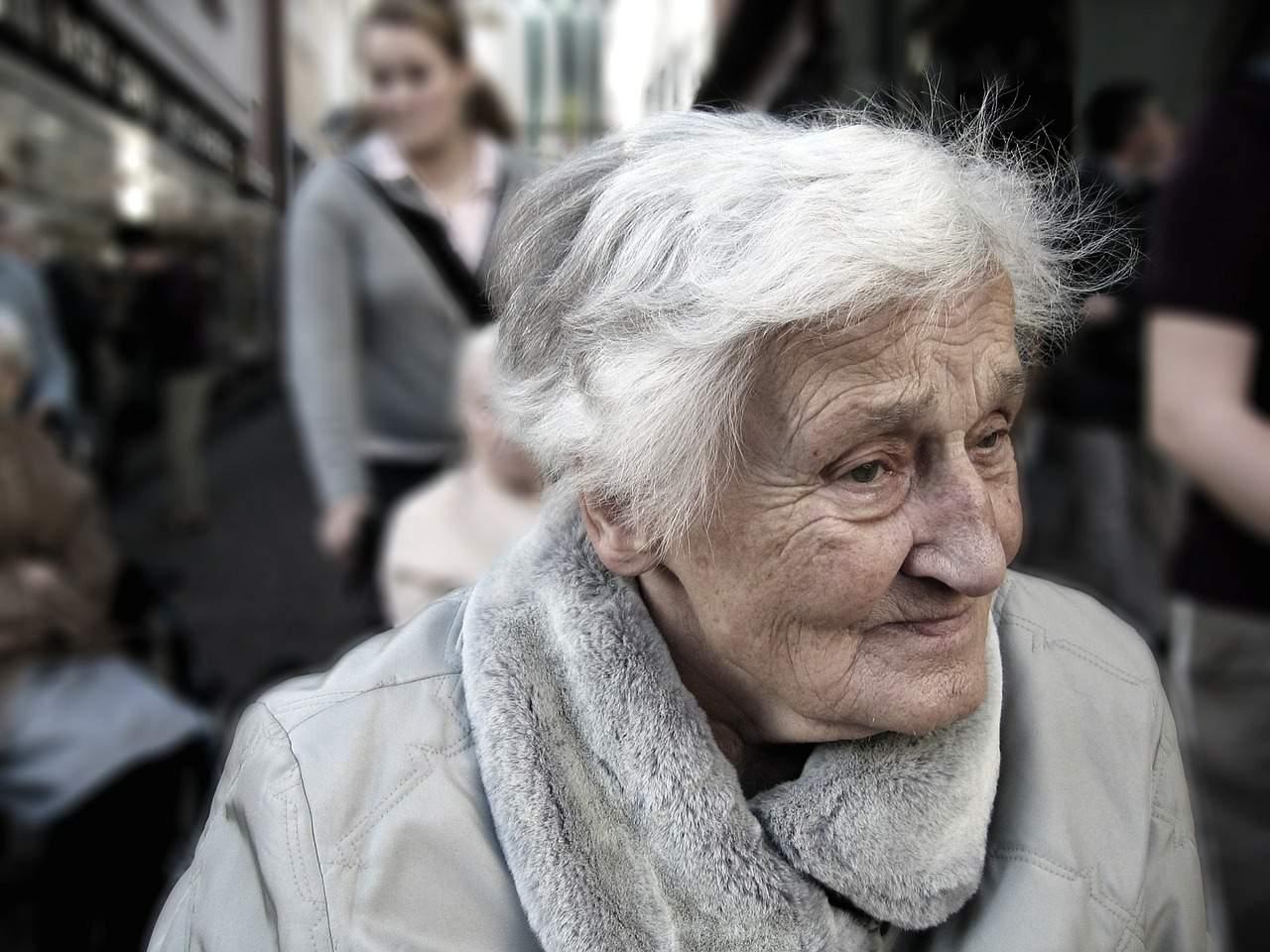 Elderly Old Lady