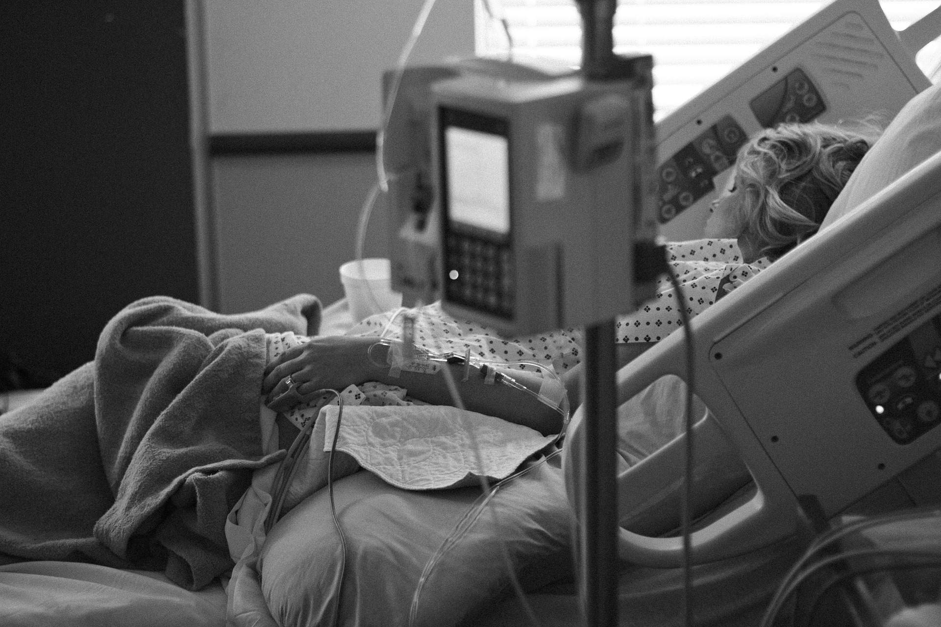 Hospital Sick Patient