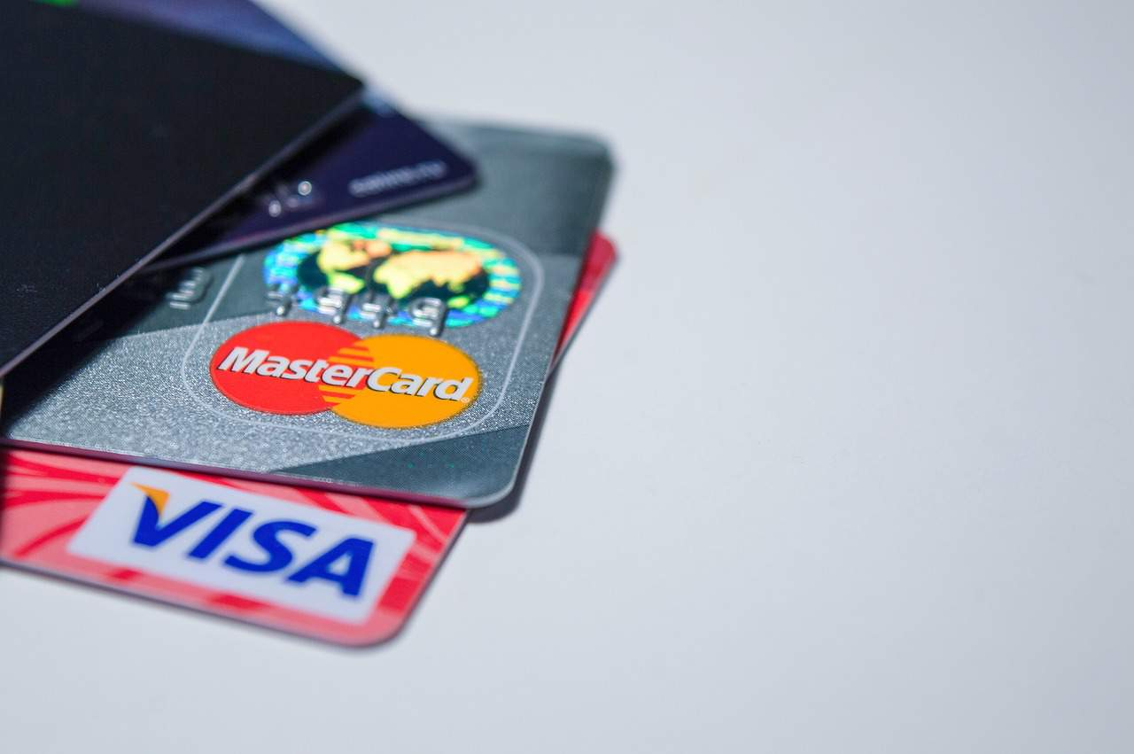 bank card visa mastercard
