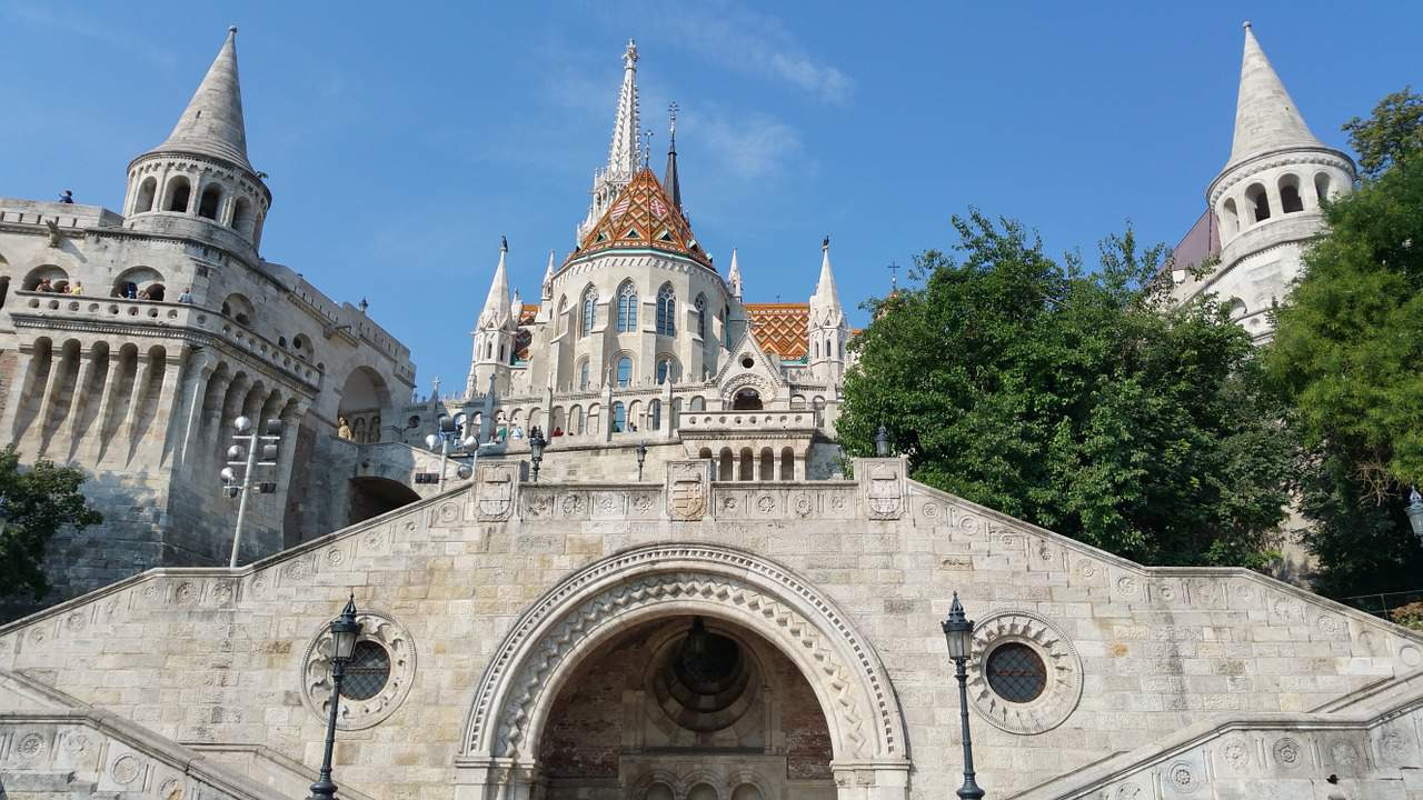 bastion, castle hill, budapest