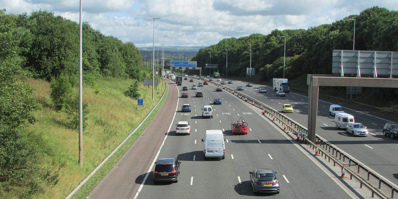 Hungarian woman caught in Britain for going the wrong way on the motorway