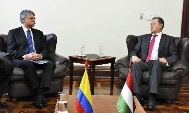 Colombian-Hungarian bilateral ties to be strengthened