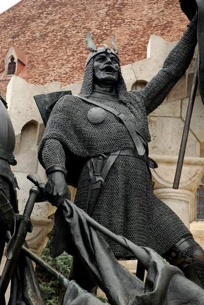 Pál Kinizsi Statue Kolozsvár