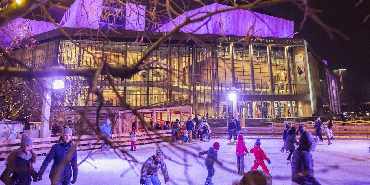 Müpa Winter Open Air 2018: lights, ice rink and a bunch of special winter programmes