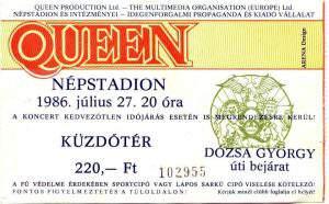 queen, ticket, show, budapest